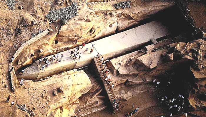 Largest Stone Blocks On Earth : Largest stones in the world aswan stone baalbek